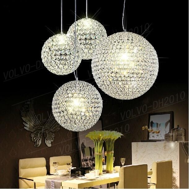 Amazing Ball Chandelier Light Llfa798 Led Crystal Ball Chandelier Lamp Living Room Lights