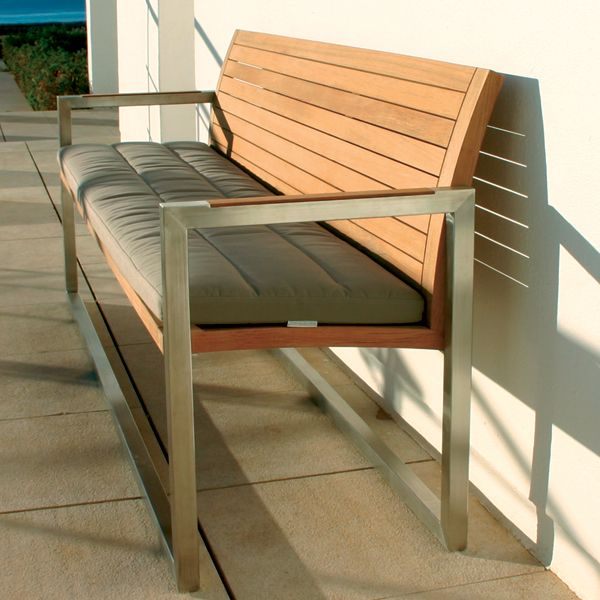 Amazing Contemporary Garden Bench Royal Botania Teak Garden Bench Homeinfatuation