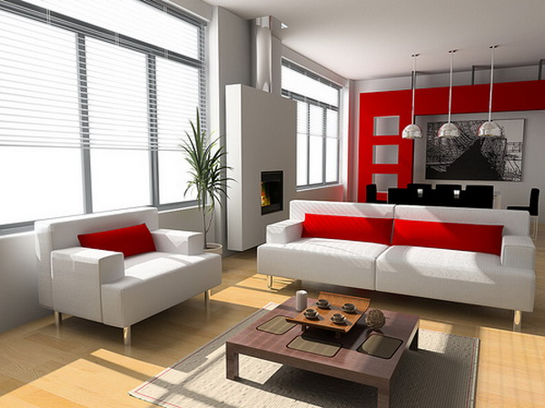 Wonderful Contemporary Interior Design Ideas For Living Rooms Living ...
