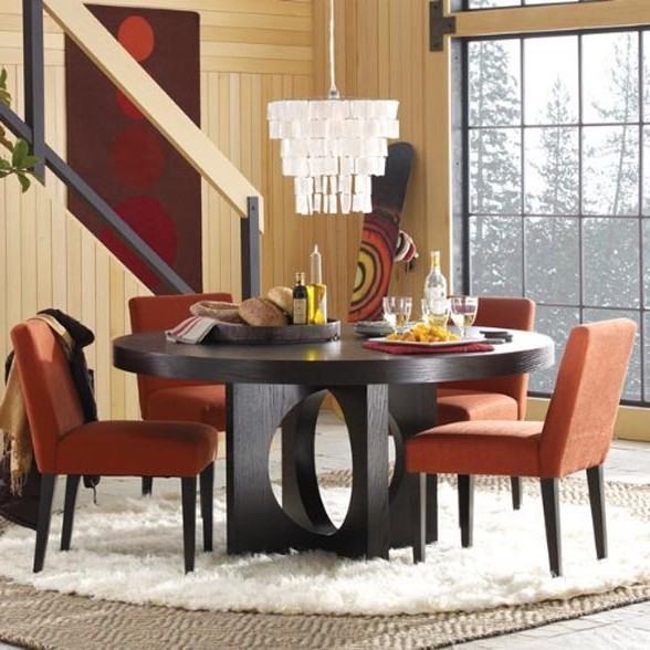 Amazing Contemporary Round Dining Table For 6 Round Dining Table For 6 Amazing Of Round Dining Table For 6