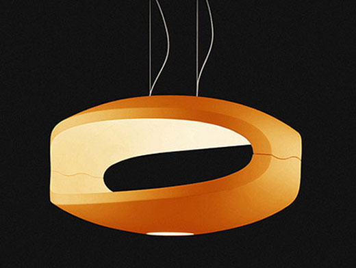 Amazing Italian Designer Lighting Orange Zainteriora