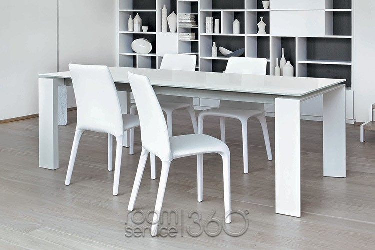 Amazing Italian White Dining Table Italian Design Dining Tables