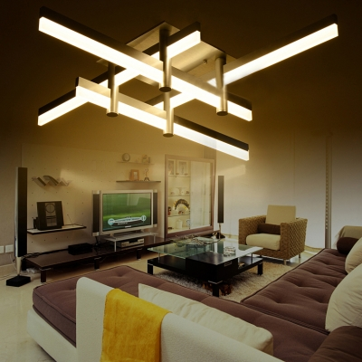 Amazing Large Ceiling Lights Large Led Bar Close To Ceiling Light Modern Cool Lighted