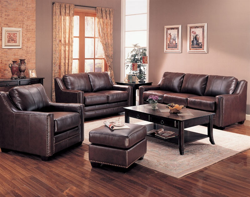 Amazing Leather Living Room Genuine Leather Living Room Sets Living Room Inside Genuine