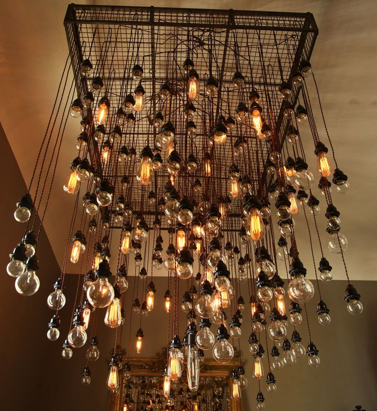 Awesome Light Bulb Chandelier Modern Decorative Light Bulbs For