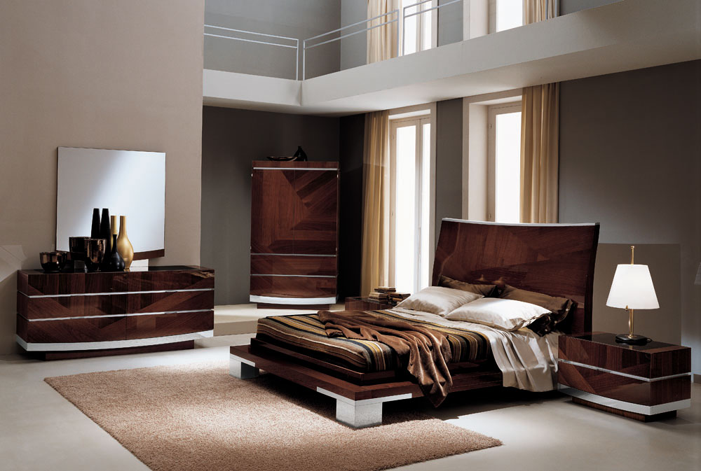 Incredible Light Wood Contemporary Bedroom Furniture Light Colored