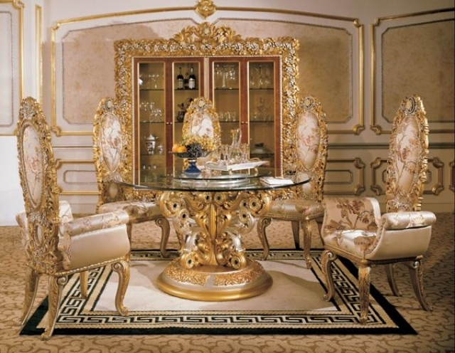Amazing Luxury Dining Table Set Luxury Dining Tables And Chairs Italian Furniture Phoebe Round