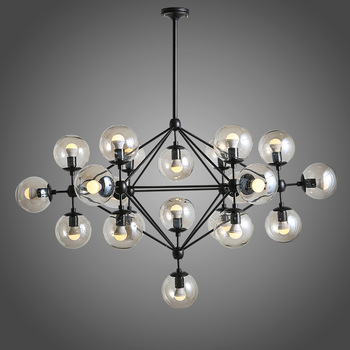 Amazing Modern Ball Chandelier Modern Ball Shape Glass Chandelier Pendant Lighting Hanging Villa