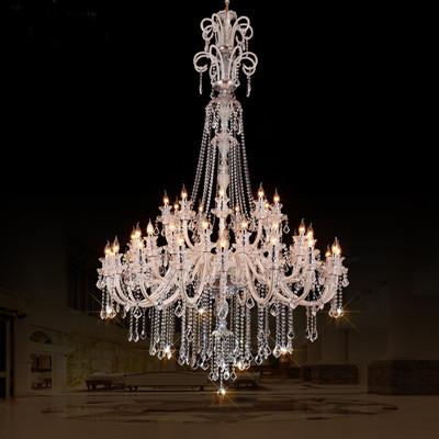Amazing Modern Crystal Lighting 45 Arm Church Chandelier Crystal Lighting Led Candle Extra Large
