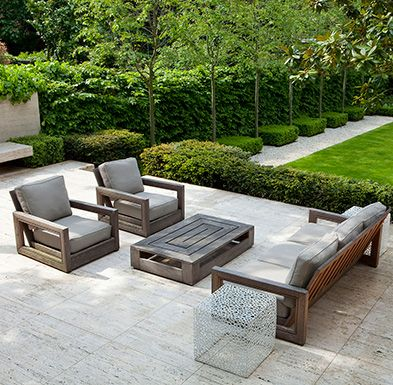Amazing Modern White Outdoor Chairs Best 25 Contemporary Garden Furniture Ideas On Pinterest