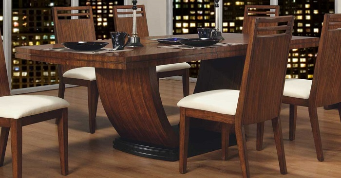 Amazing Modern Wooden Dining Table Designs Modern Dining Table Designs Wooden Prepossessing Idea Awesome