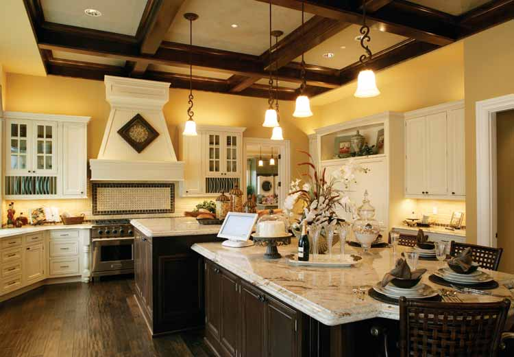 Amazing of Big Kitchen Design Home Plans With Big Kitchens At Eplans Spacious Floor Plan