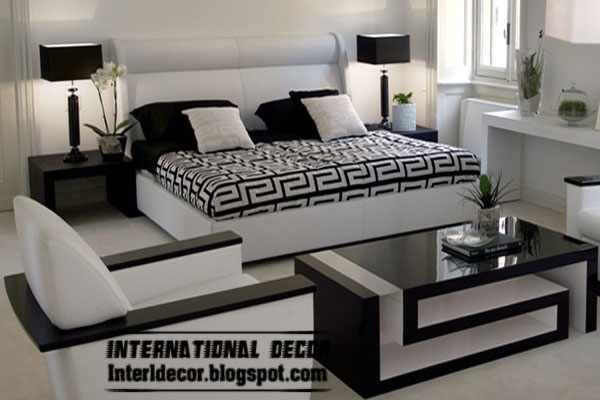 Amazing Of Black And White Bedroom Furniture Decorating Your Design A House  With Improve Modern Bedroom