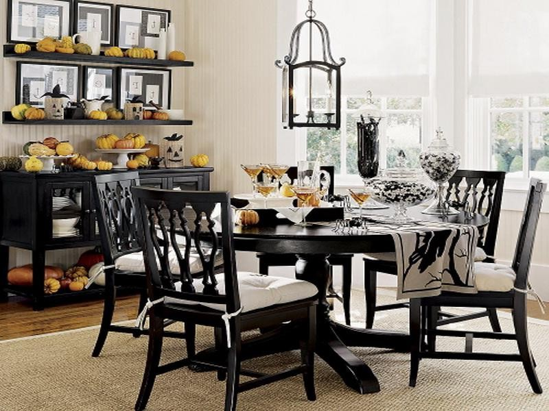 Amazing of Black Dining Room Set Living Room Dazzling Black Dining Room Sets Nice Chairs Elegant