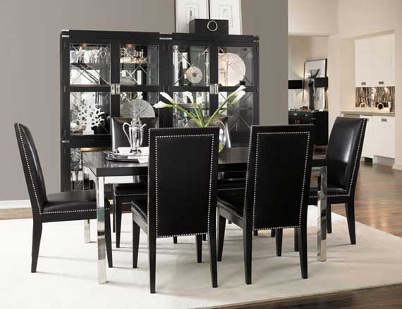 Amazing of Black Dining Room Table And Chairs Dining Room Fancy Black Dining Room Tables Fabulous Table Epic