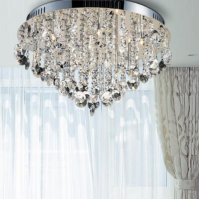 Amazing of Contemporary Crystal Ceiling Lights Contemporary Ceiling Lights Crystal Ceiling Lamp Semi Flush