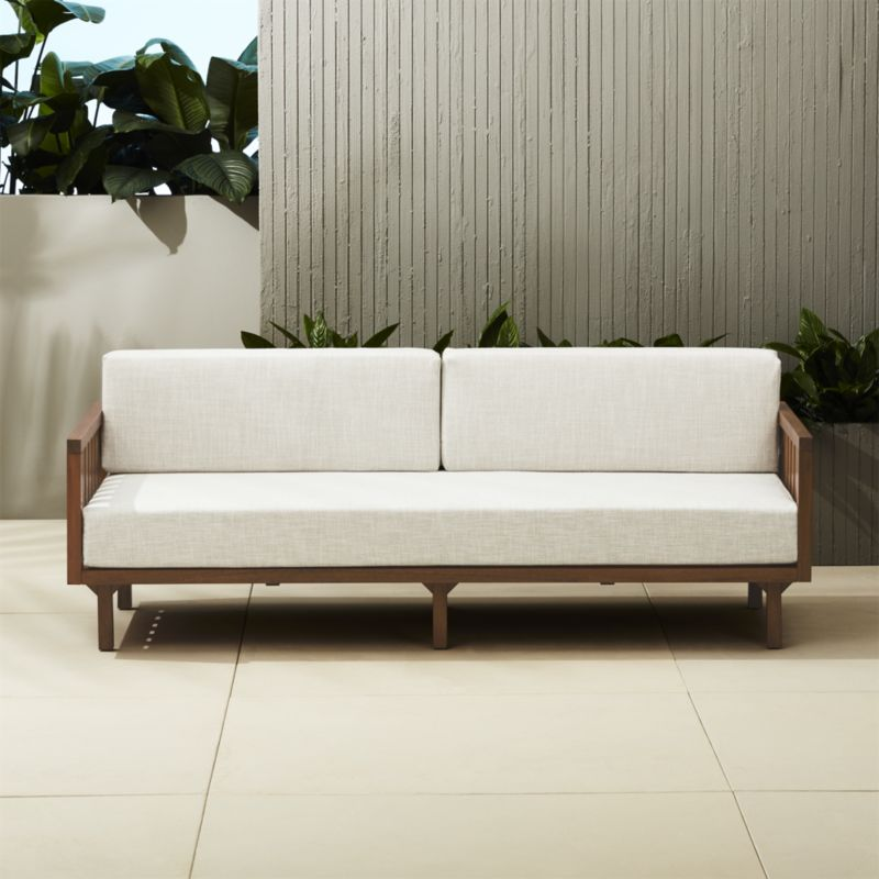 Stylish Contemporary Outdoor Sofa Nice Wooden Outdoor Sofa Furniture ...