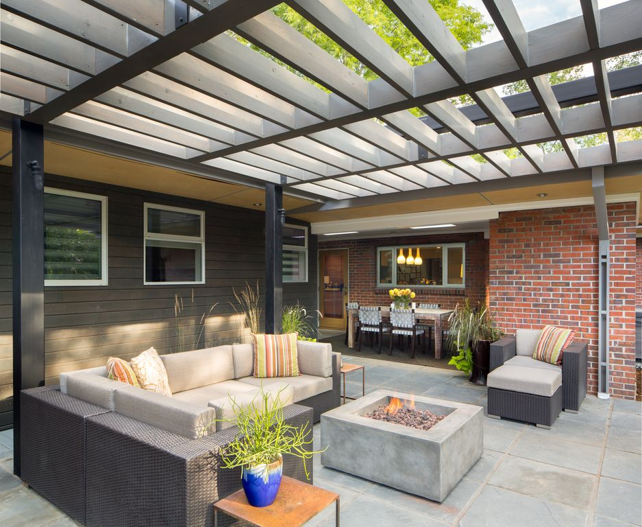 Amazing of Contemporary Patio Ideas Contemporary Patio Design Ideas Pictures Zillow Digs Zillow