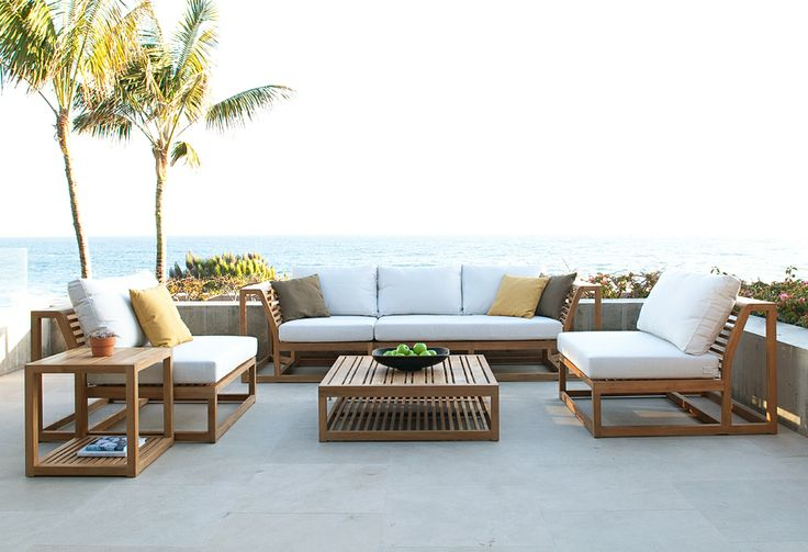 Amazing of Contemporary Teak Outdoor Furniture Good Ideas Teak Patio Furniture The Home Redesign