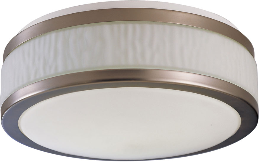 Amazing of Flush Ceiling Light Fixtures Afx Fuf162400l30d1sn Fusion Satin Nickel Led 155 Flush Mount