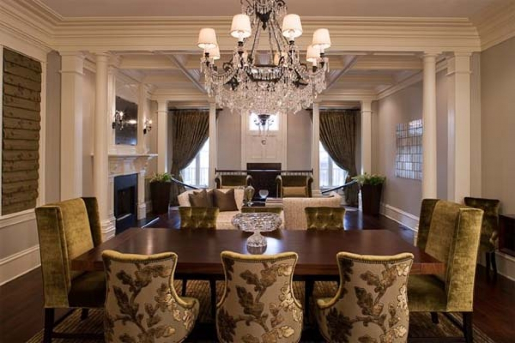 Amazing Of Formal Dining Rooms Elegant Decorating Ideas Dining Room - Fancy-dining-room