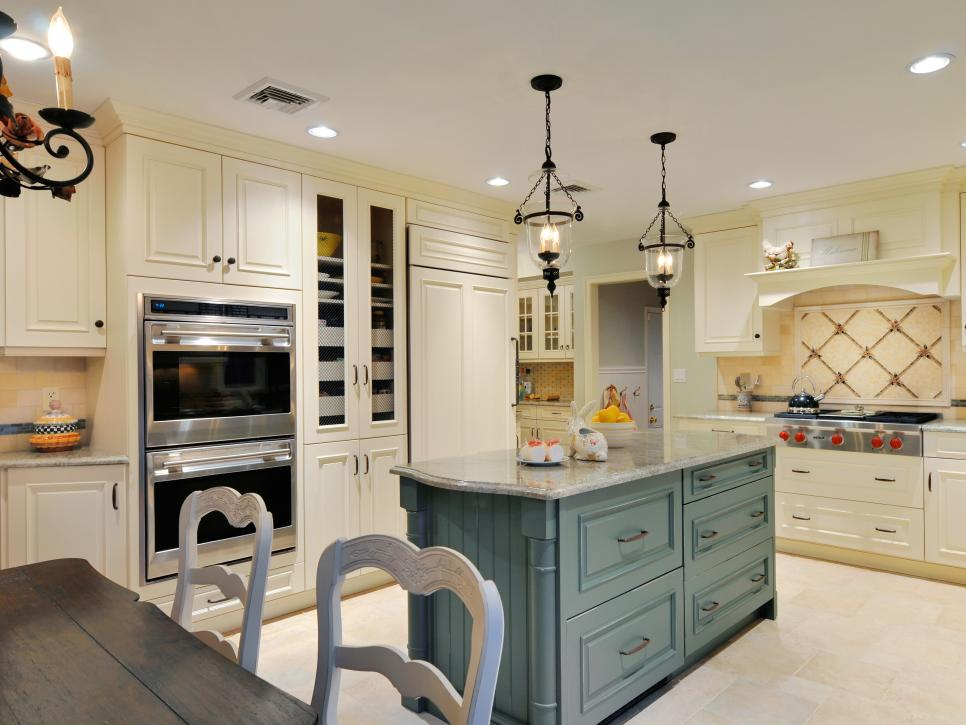 Amazing of French Kitchen Design French Country Kitchens Hgtv