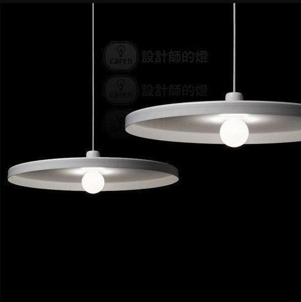 Amazing of Hanging Lamps For Ceiling White Modern Disk Pendant Light Ceiling Lamps Minimalist