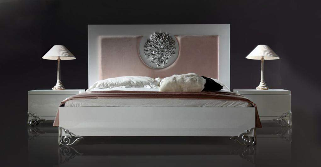 Amazing of High End Beds Luxury White High Gloss High End Contemporary Bed Furniture