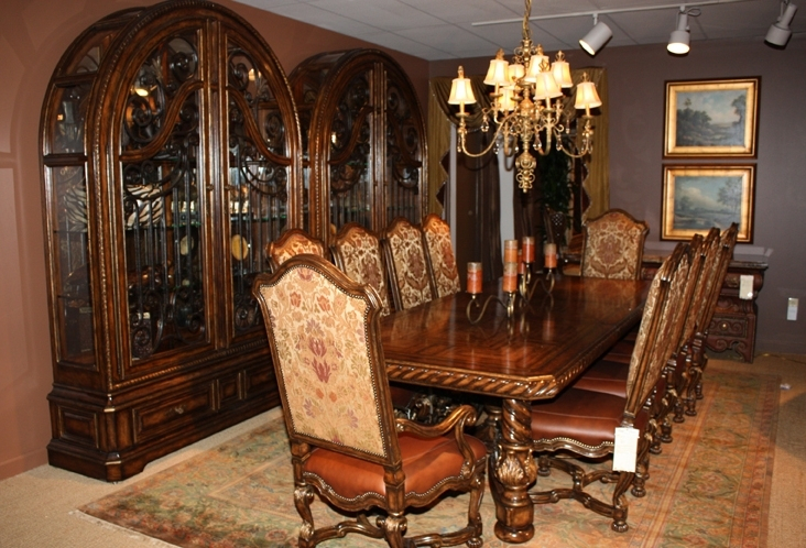 Amazing of High End Dining Room Tables Luxury Dining Tables And Chairs Island Kitchen Throughout High End