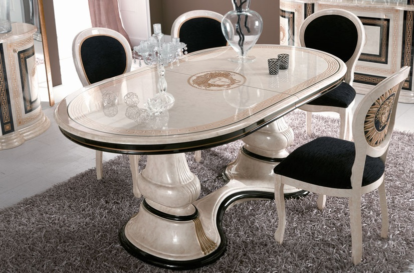 Amazing of Italian White Dining Table Astounding Italian Dining Tables And Chairs 42 On Discount Dining