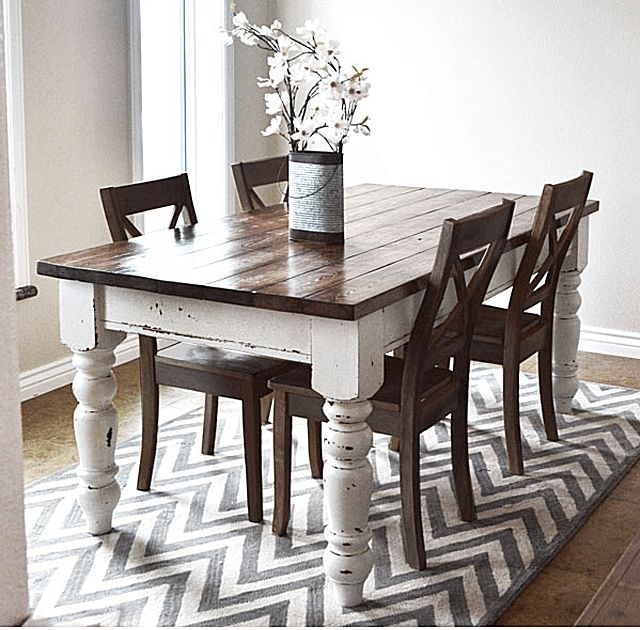 Amazing of Kitchen Dining Furniture Long Narrow Farmhouse Dining Table Farmhouse Dining Table And