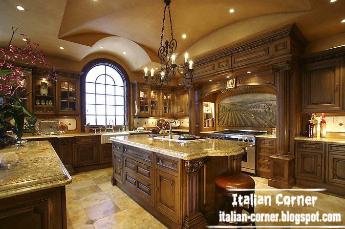 Amazing of Luxury Kitchen Furniture Luxury Italian Kitchen Designs With Wooden Cabinets Furniture