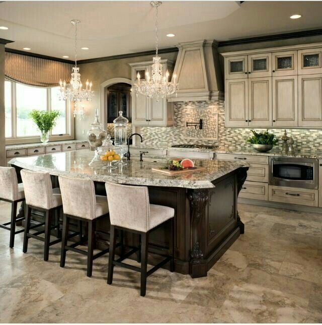Amazing of Luxury Kitchen Island Best 25 Luxury Kitchens Ideas On Pinterest Luxury Kitchen