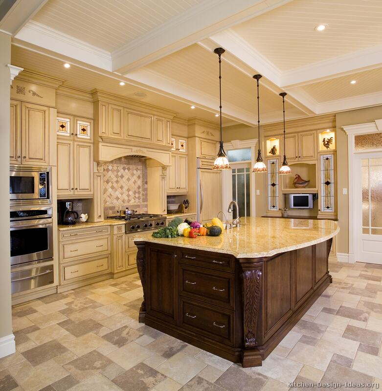 Amazing of Luxury Kitchen Island Luxury Kitchen Design Ideas And Pictures