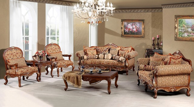 Amazing of Luxury Traditional Living Room Furniture Traditional Sofa Set For The Living Room Madeleine Luxury Living