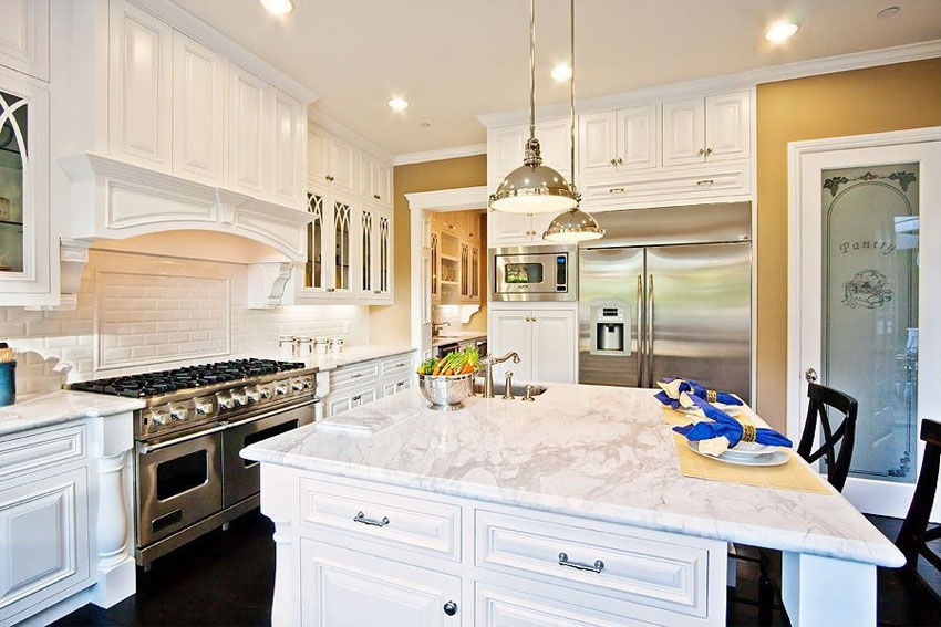 Amazing of Luxury White Kitchen Cabinets 45 Luxurious Kitchens With White Cabinets Ultimate Guide