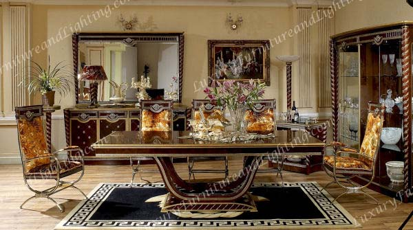 Amazing of Luxury Wooden Dining Tables Zeus Walnut Dining Room Series Luxury Furniture And Lighting Best