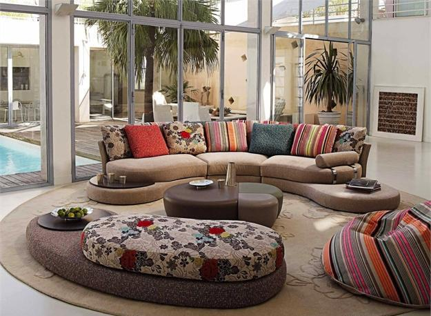 Amazing of Modern Sitting Room Chairs Colorful Living Room Furniture Modern Home Design