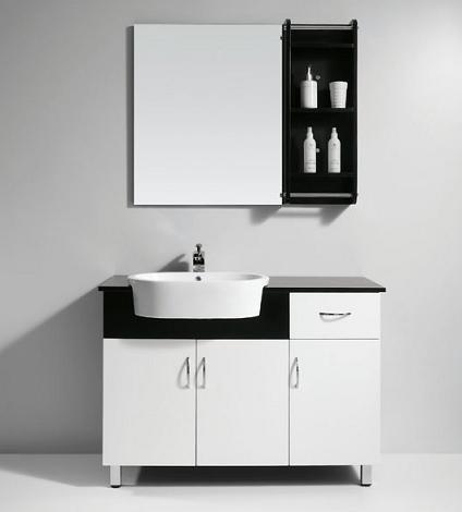 Amazing of Modern White Bathroom Cabinets Winsome Ideas Modern White Bathroom Vanity Home Design And
