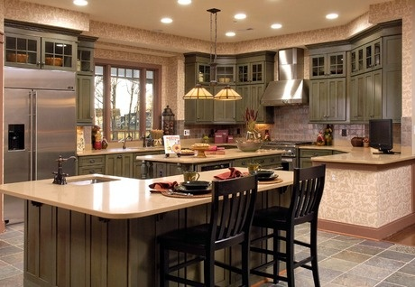 Amazing of New Home Kitchen Designs New Home Kitchen Design Ideas With Goodly New Home Kitchen Design
