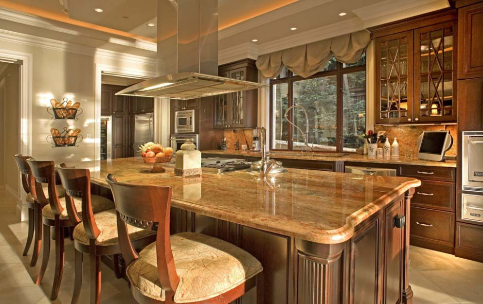 Amazing of Small Luxury Kitchen Luxury Small Kitchen With Dining Area Design Idea Home Design