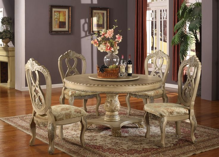 Amazing of White Dining Room Sets Formal Antique White Finish Formal Dining Table Woptional Chairs Antique