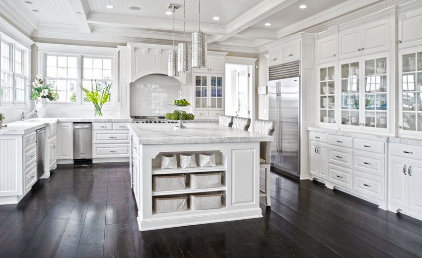 Amazing of White Kitchen Cabinets 45 Luxurious Kitchens With White Cabinets Ultimate Guide