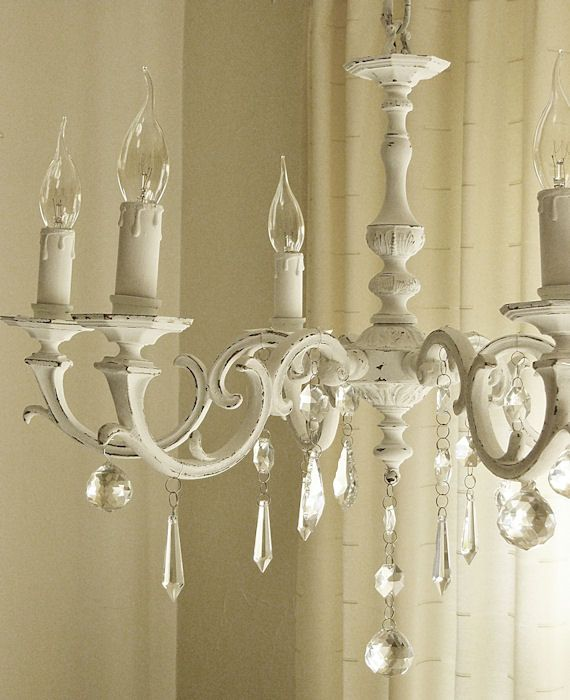 Amazing Shabby Chic Chandelier Best 25 Shab Chic Chandelier Ideas On Pinterest Shab Chic
