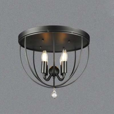 Attractive 4 Light Ceiling Fixture Fashion Style Flush Mount Ceiling Lights Industrial Lighting