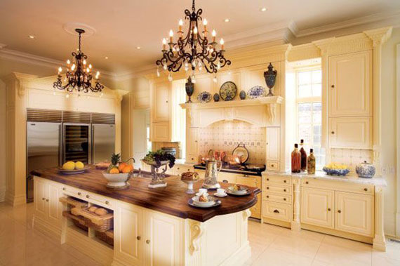 Attractive Beautiful Luxury Kitchens Large Luxury Kitchens Designs 38 Pictures