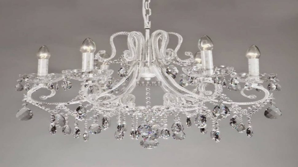 Attractive Big White Chandelier Chandelier Small Chandeliers For Bedroom Large Chandeliers Small