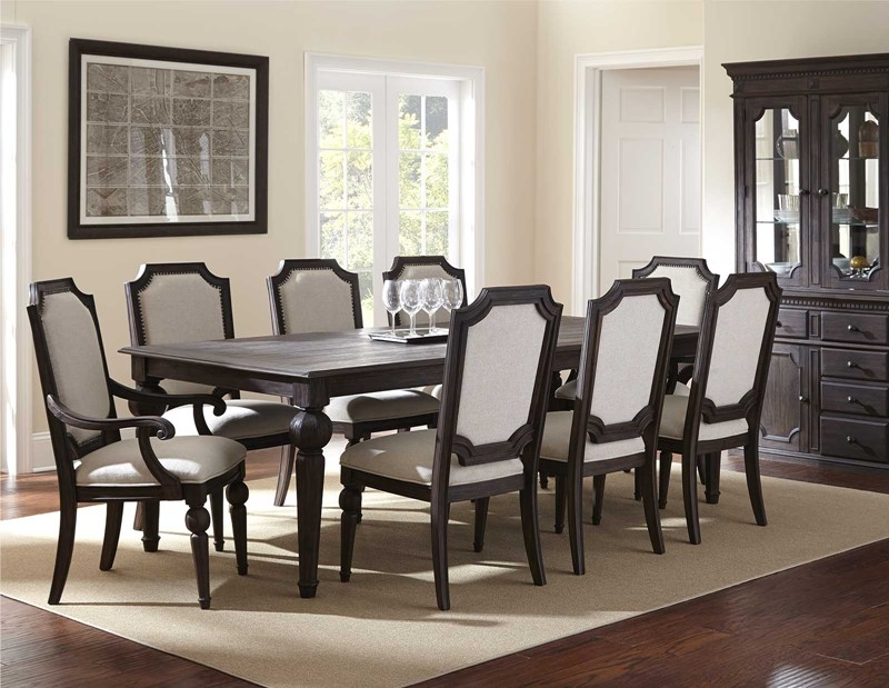 Attractive Black Formal Dining Room Table Formal Dining Room Set