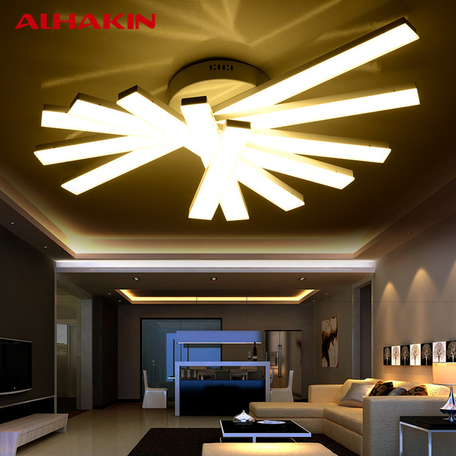 Attractive Bright Ceiling Light Alhakin Ceiling Light 345 Heads Acrylic Led Lamparas De Techo
