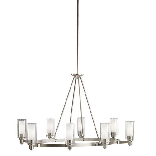 Attractive Brushed Nickel Chandelier Brushed Nickel Chandeliers On Sale Up To 50 Off Retail Bellacor